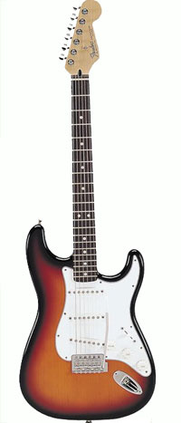 Fender Standard Stratocaster Electric Guitar Picture