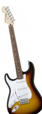 Fender Standard Stratocaster Left-Handed Electric Guitar