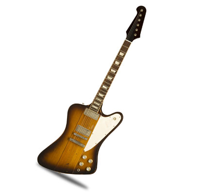 The Gibson JOHNNY WINTER FIREBIRD 6-String Electric Guitar. Gibson custom
