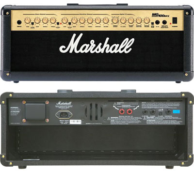 Marshall MG100HDFX Guitar Amplifier Head