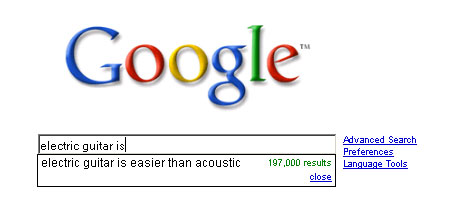 Electric Guitar is Easier than Acoustic