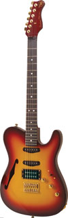 Valley Arts Bent Top T-Series Electric Guitar